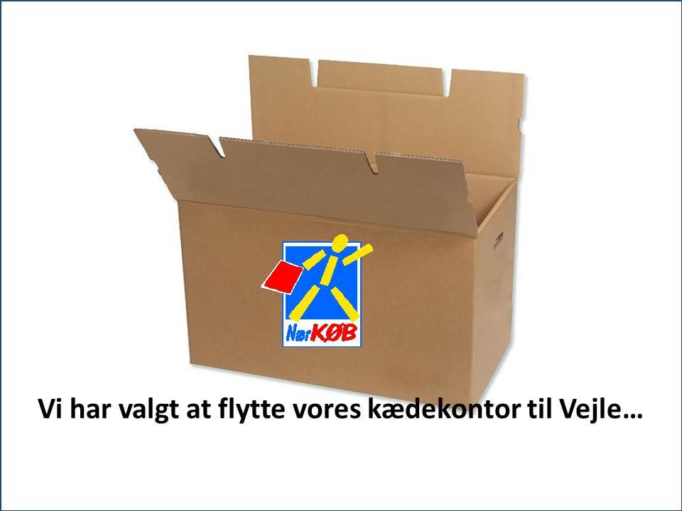 Flytter vores kædekontor til Vejle