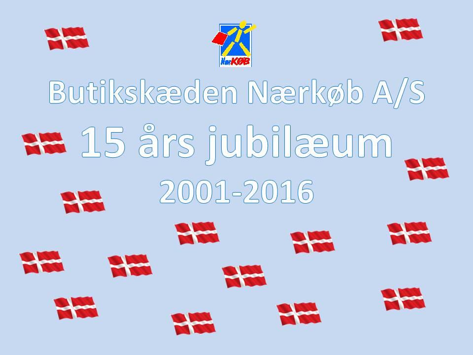 15 års jubilæum