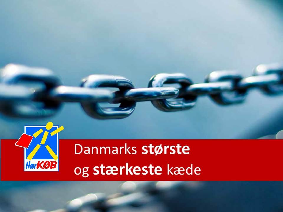Butikskæden Nærkøb A/S nye profilbrochure