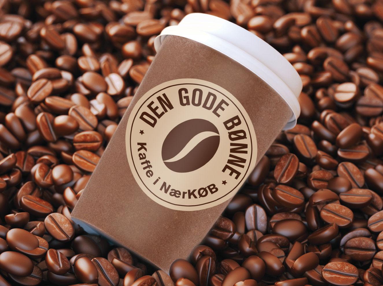 """""""DEN GODE BØNNE"""" hedder NærKØB´s nye Coffee to go koncept"""