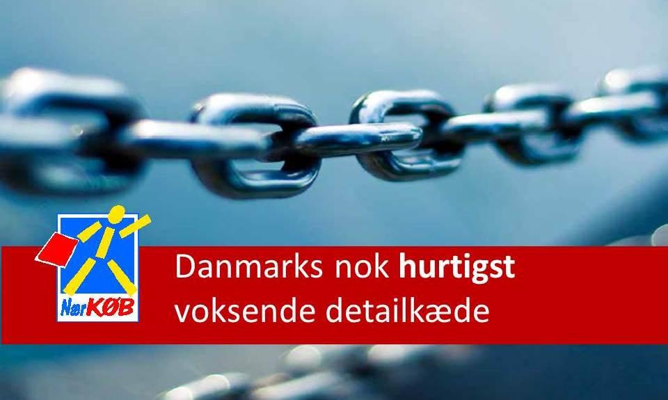 Danmarks nok hurtigst voksende detailkæde