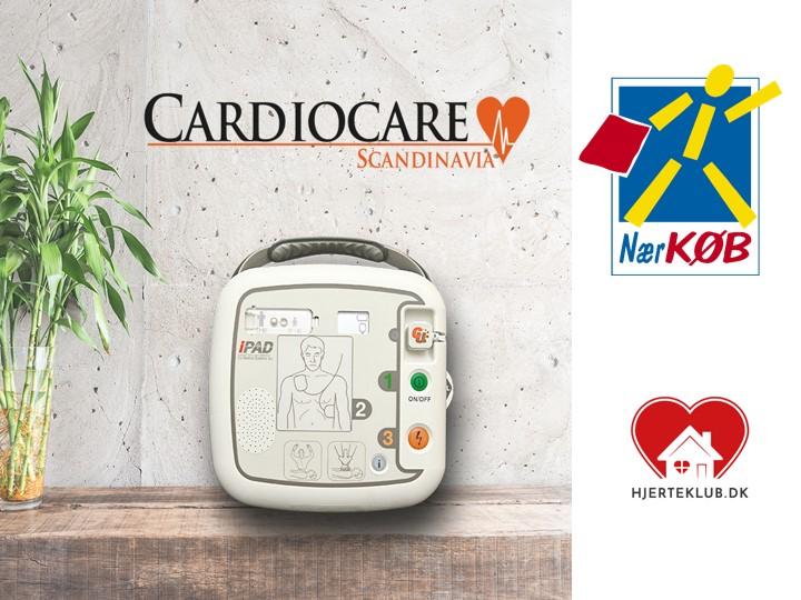 Butikskæden Nærkøb A/S går ind i kampen om flere hjertestarter