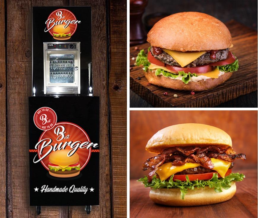Hot to Go – fastfood mersalg af burgere og hotdogs i butikkerne.